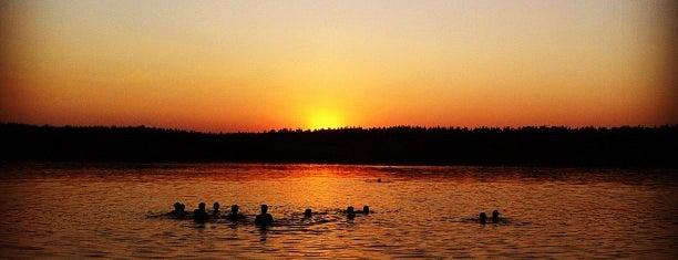 Озеро Белое is one of Погулять.