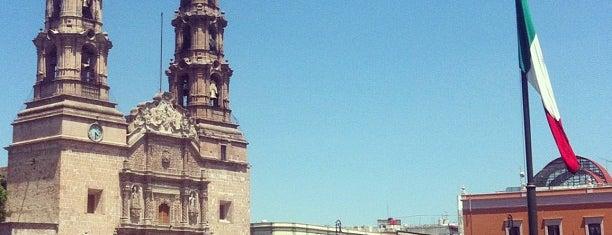 Plaza de la Patria is one of Aguascalientes.