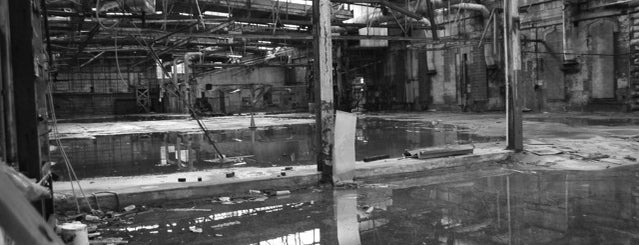 Brooklyn Navy Yard is one of Abandoned NYC.