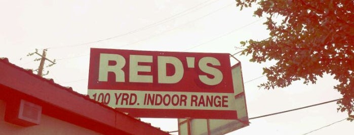 Red's Indoor Range South is one of Best of Austin - Fun.