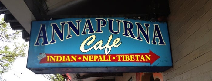 Annapurna Cafe is one of Lieux qui ont plu à Bridget.