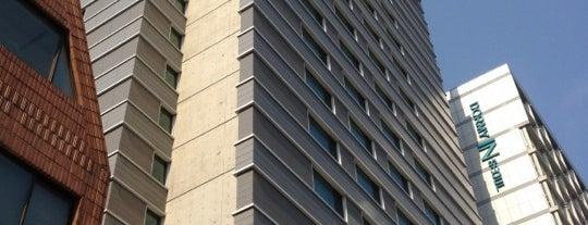Best Western Premier Gangnam Hotel is one of world best hotels.