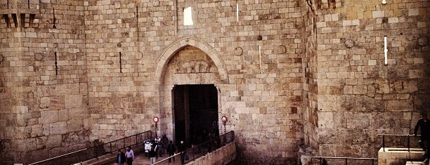 Damascus Gate is one of Lieux qui ont plu à Ish.
