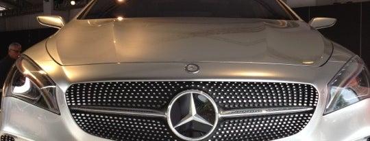 Mercedes-Benz Brand Center - US Open is one of MEUS FAVORITOS II.