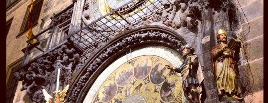 Pražský orloj is one of Prague.