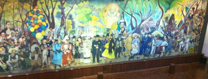 Museo Mural de Diego Rivera is one of Mexico Wednesday.