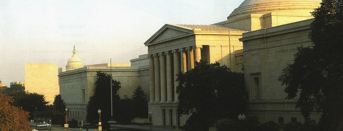 National Gallery of Art is one of DC favorites.