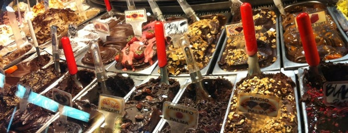 Gelateria della Palma is one of Mangiare vegan a Roma.