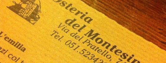 Osteria del Montesino is one of Le 10 migliori osterie di Bologna.