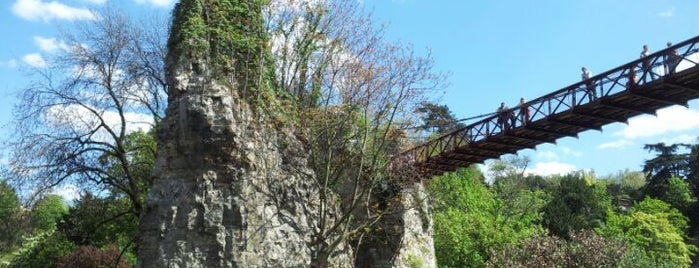 Parc des Buttes-Chaumont is one of Yeti Trail Adventure.