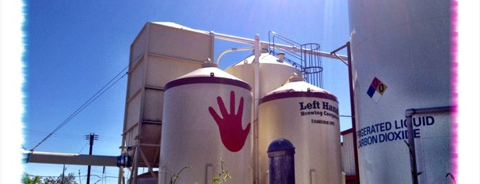Left Hand Brewing Company is one of Locais salvos de Sonya.