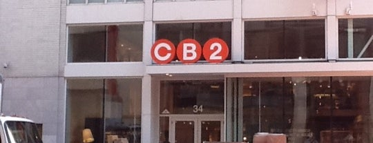 CB2 Union Square is one of Furniture Shopping.