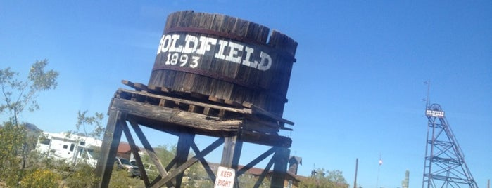 Goldfield Ghost Town is one of Places to try.