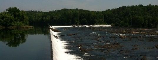 Augusta Canal Headgates-Savannah Rapids is one of Lugares favoritos de Layla.