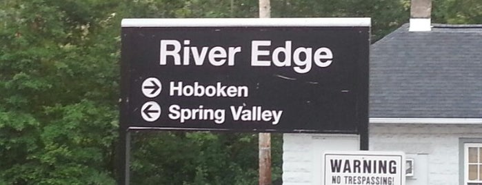 NJT - River Edge Station (PVL) is one of Nancy's Wonderful Places/Games/	Clothes ect....