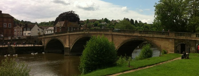 Bewdley Bridge is one of Orte, die Carl gefallen.