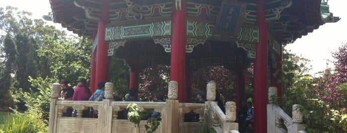 Golden Gate Park Chinese Pavilion is one of Bay Area to-do list.