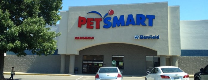 PetSmart is one of my check ins.