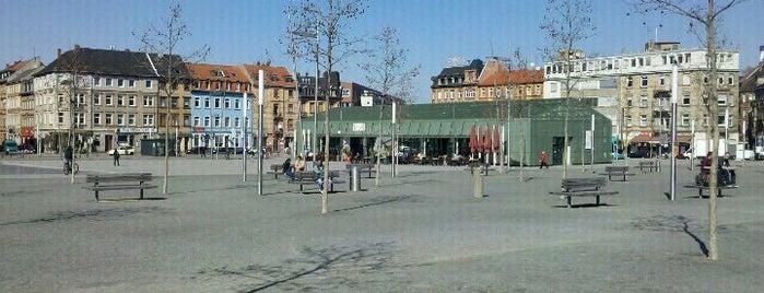 Alter Messplatz is one of Monnemer Küsch' unn annern schää Plätzjer.