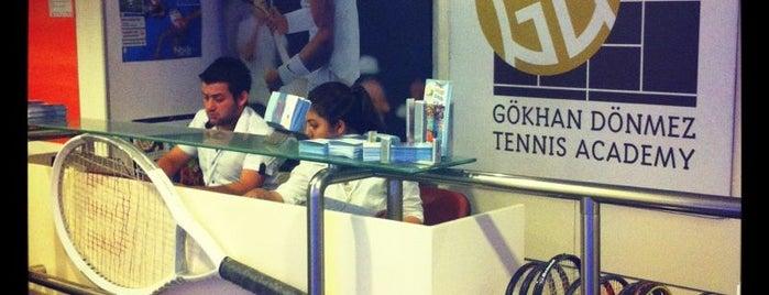 Gokhan Donmez Tennis Academy is one of Spor Mekanları.