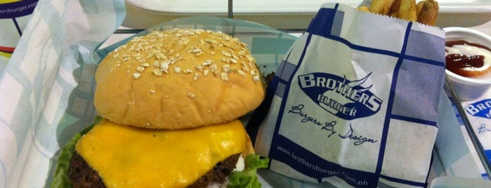 Brothers Burger is one of Philippines April 2012.