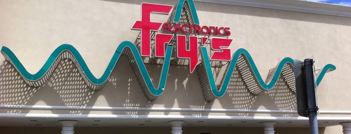 Fry's Electronics is one of Silicon Valley.