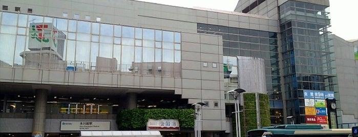 Hon-Kawagoe Station (SS29) is one of Hide 님이 좋아한 장소.