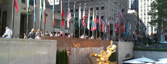 Rockefeller Center is one of NYC SoHo . TimesSquare . 5th-8thAve . EastVillage.