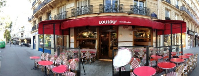 Loulou' Friendly Diner is one of Paris cafe, dessert, breakfast.