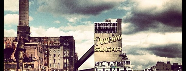 Domino Sugar Factory is one of Culture club.