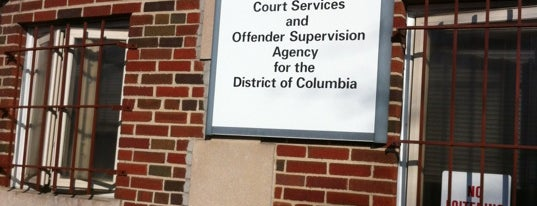 Court Services And Offender Supervision Agency is one of Washington, DC.