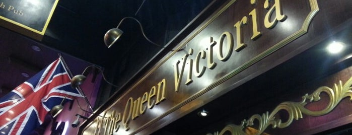 The Queen Victoria is one of Favorite Places in HK.