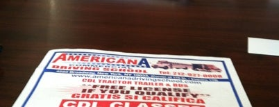 Americana Driving School is one of Check In.