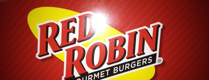 Red Robin Gourmet Burgers and Brews is one of Orte, die Shamika gefallen.