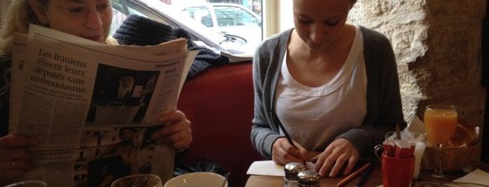 Café Crème is one of Paris // Tea, Cake, Coffee & More.