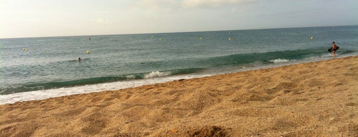 Playa Malgrat de Mar is one of Barcelona.