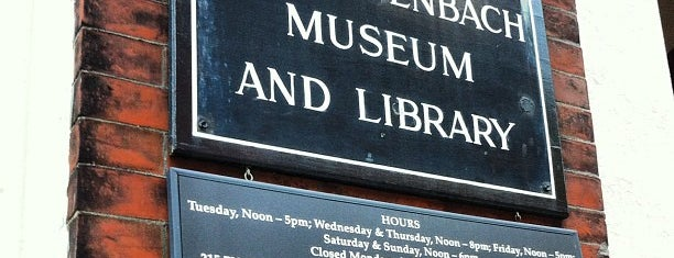 Rosenbach Museum & Library is one of Fun.
