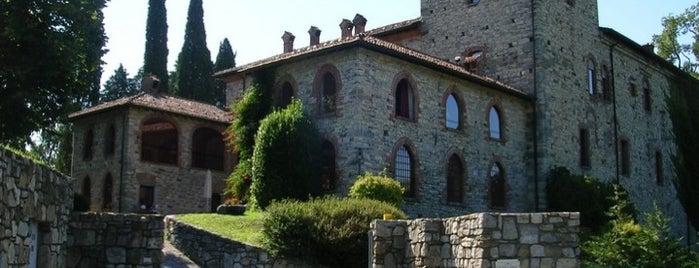 Castello di Casiglio is one of Castelli Italiani.