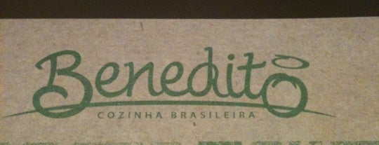 Benedito Cozinha Brasileira is one of Fabio 님이 저장한 장소.