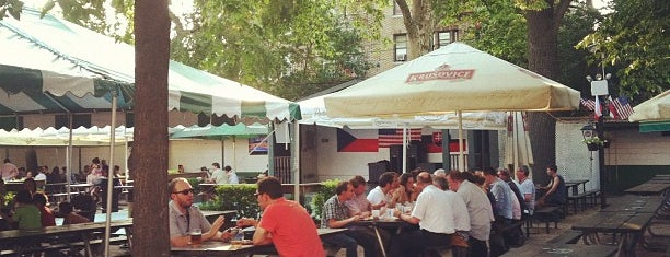 Bohemian Hall & Beer Garden is one of What to Eat in Astoria.