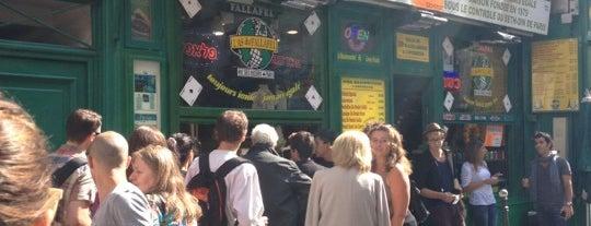 L'As du Fallafel is one of Dove mangiare/bere a Parigi.