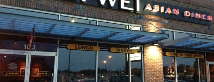 Pei Wei is one of Lieux qui ont plu à Dustin.