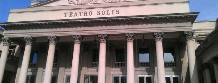 Teatro Solís is one of Uruguay.