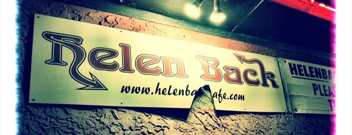 Helen Back Cafe is one of Pizza!!.