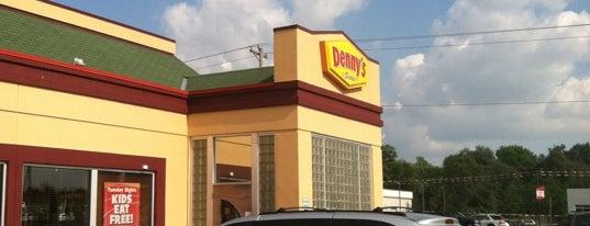 Denny's is one of Lugares favoritos de Jim.