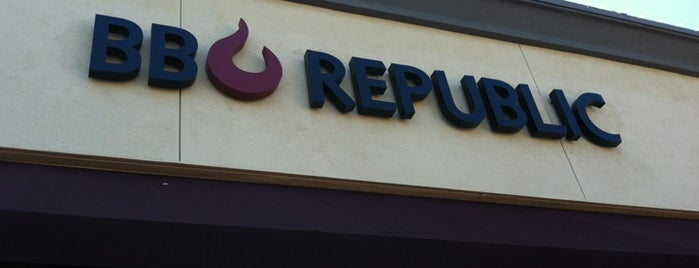 BBQ REPUBLIC is one of eats.