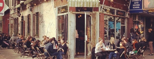 Five Leaves is one of NYC - Coffee, Sweets, Brunch.