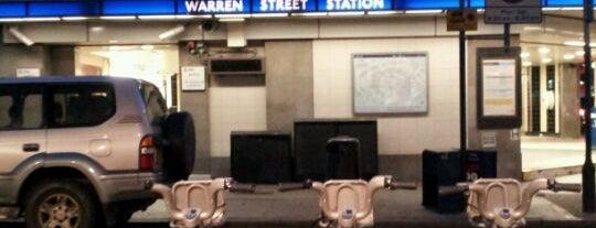 Warren Street London Underground Station is one of Underground Stations in London.