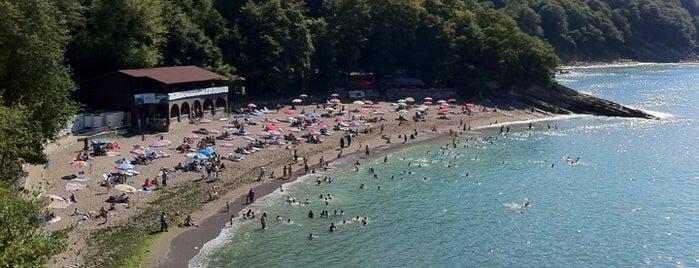 Ceneviz Kalesi Plajı is one of Lugares guardados de Tevfik.