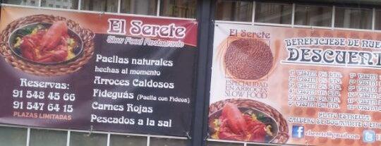 El Serete is one of Promociones.